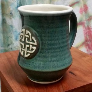 Celtic tea mug