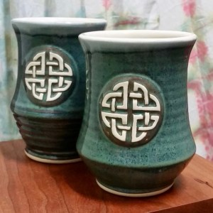 Celtic coffee mug