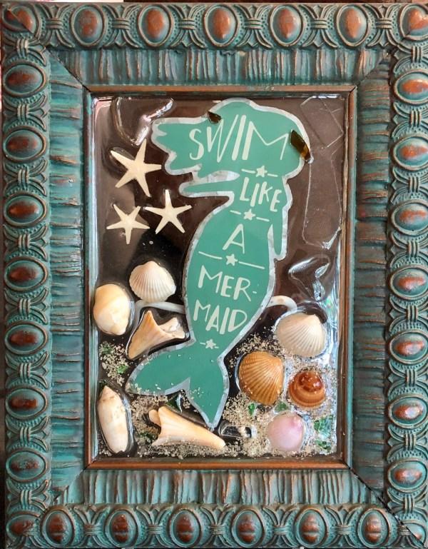 mermaid starfish shells