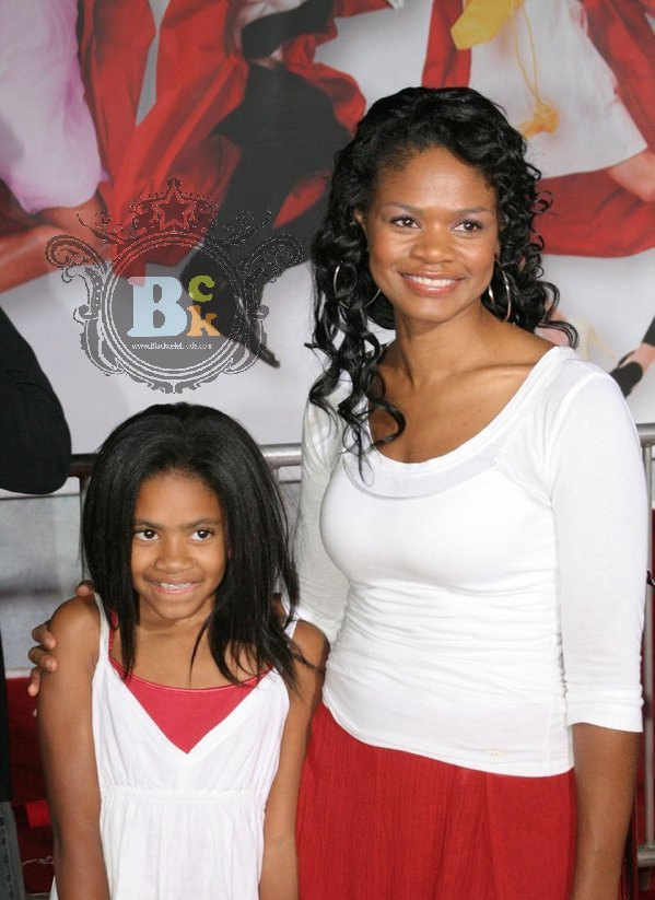 ACTRESS KIMBERLY ELISE AND DAUGHTER BUTTERFLY ...