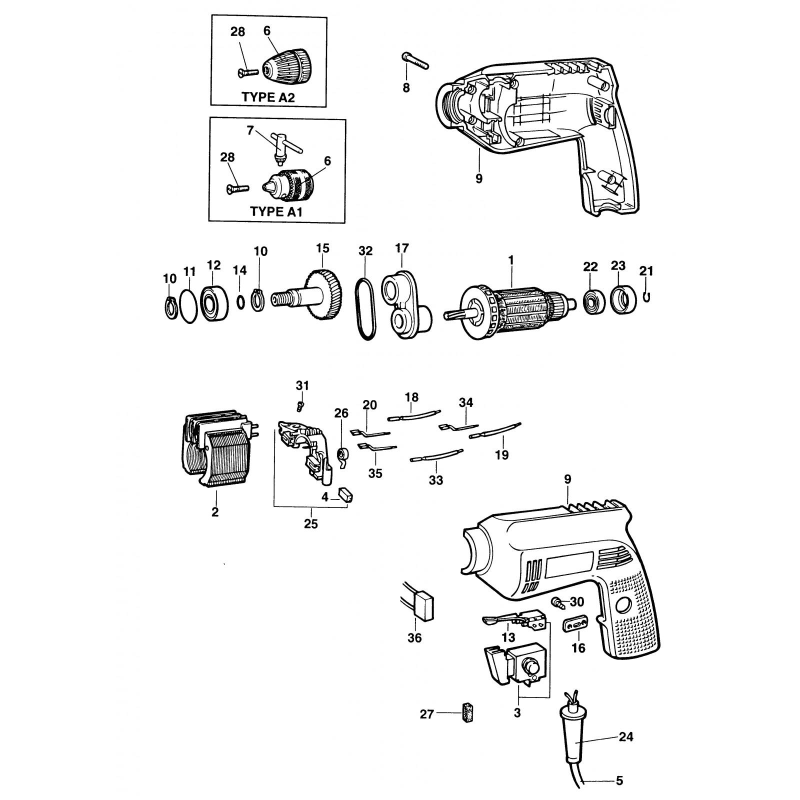Bbm450e Type 1 Drill