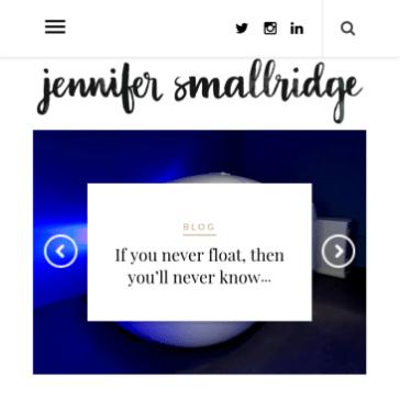 Digitised hand lettered blog header