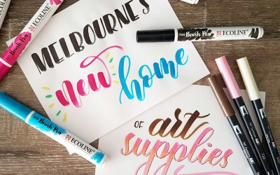 Melbourne's New Home of Art Supplies
