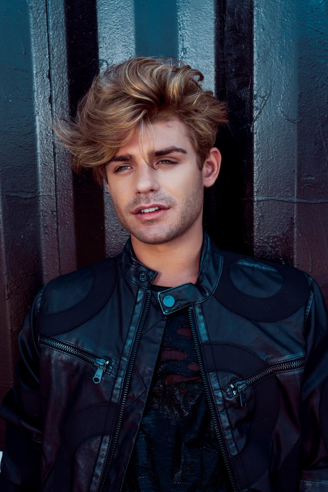 Garrett Clayton King Cobra Black Chalk Magazine