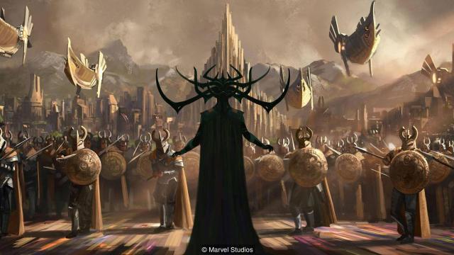 Thor: Ragnarok / Black Chalk Magazine