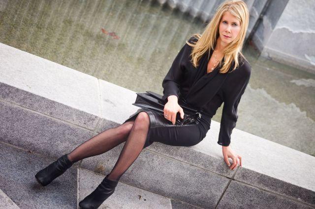 Designer Jill Fraser, of Jill Milan