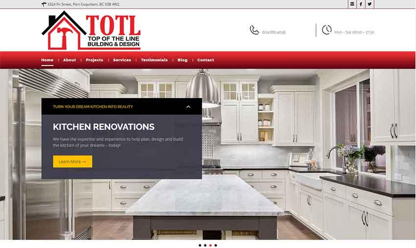 Wordpress Web Design Portfolio - Website Development - Black Chip