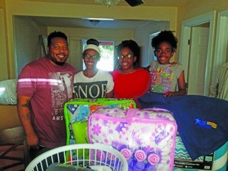 From left are United States Army Veteran Jaimaya Jones with daughters Jainiyah, Tamya and Mylah. (courtesy photo)
