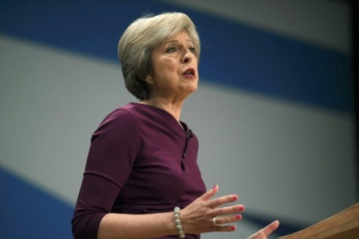 British Prime Minister Theresa May has acknowledged that her Christian faith influences many of her political decisions. (Toby Melville/Reuters)