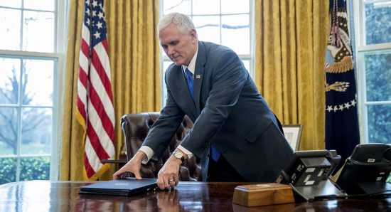 Some conservatives are hinting that Vice President Mike Pence looks like a particularly good alternative right now, especially as the Justice Department moves ahead with a special prosecutor for the FBI's Russia probe. (AP Photo)