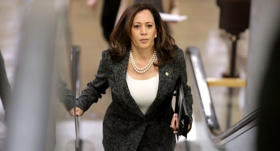 From her first days on Capitol Hill, Sen. Kamala Harris has been winning kudos from progressives, beginning when she became one of only 11 senators to vote against the confirmation of General John Kelly to head the Department of Homeland Security. (Getty)