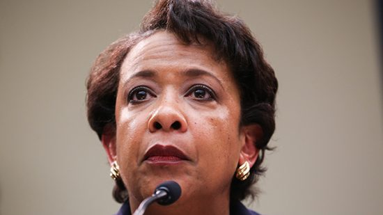 Attorney General Loretta Lynch testifies in front of the House Judiciary Committee during a oversight hearing of the Justice Department on Tuesday, July 12, 2016.