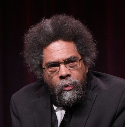"""Cornel West participates in the """"Black America Since MLK: And Still I Rise"""" panel during the PBS Television Critics Association summer press tour on  July 29, 2016, in Beverly Hills, California. (Richard Shotwell/Invision/AP)"""