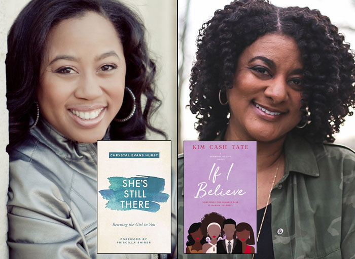 Chrystal Evans Hurst (She's Still There: Rescuing the Girl in You— Nonfiction) and Kim Cash Tate(If I Believe— Fiction) lead the bestsellers list of Black Christian authors