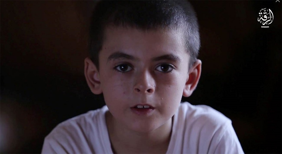 A 10-year-old boy who claims he is American is featured in an ISIS video. (Flashpoint)