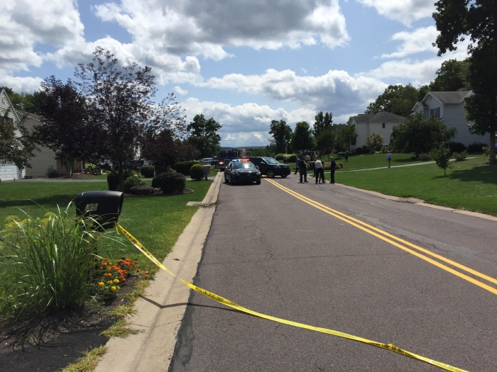 Emergency crews have responded to a development in Rice Township where multiple pedestrians have been struck. (Bob Kalinowski)