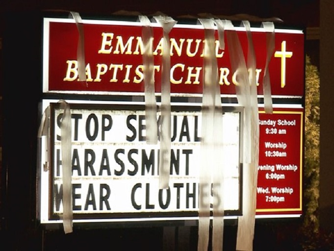 Churches and sexual harrassment