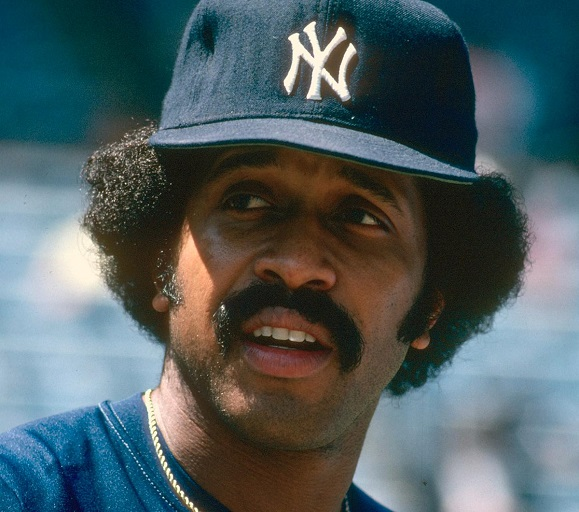 Oscar Gamble was a Yankee for seven of his 17 major-league seasons. (FOCUS ON SPORT/GETTY IMAGES)