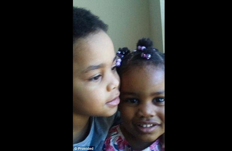 Four-year-old Khristopher Gober and his two-year-old sister Kailani were killed in the fire that swept through their apartment