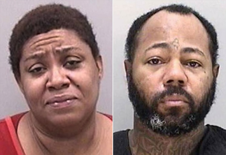 From left: Tanya Tripp and Leon Tripp (DeKalb County Sheriff's Office)
