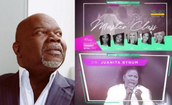 Juanita Bynum Reunites With TD Jakes for 'Woman Thou Art