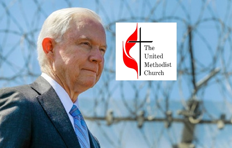 Methodists vs  Jeff Sessions: Attorney General's Church Files Church