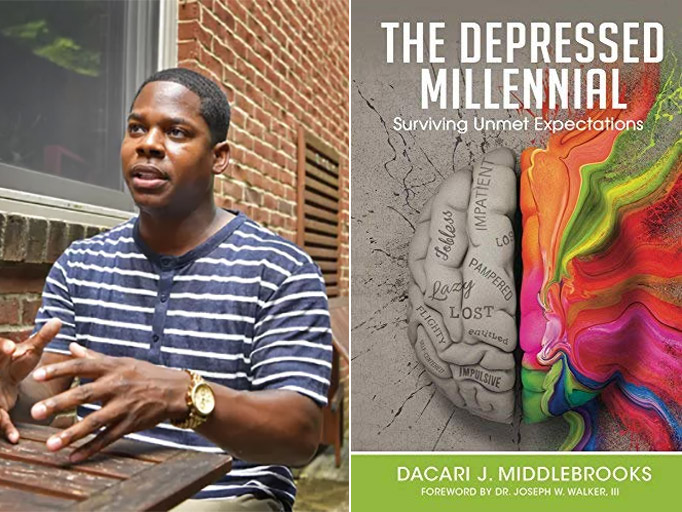 """Dacari J. Middlebrooks is the author of """"The Depressed Millennial."""""""