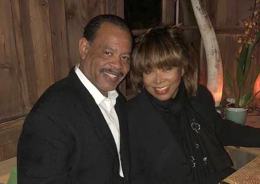 Craig Turner and Tina Turner