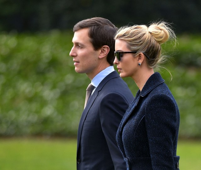President Donald Trump May Not Have Been Invited To Sen John Mccains Service At The National Cathedral But His Daughter Ivanka Trump And Jared Kushner