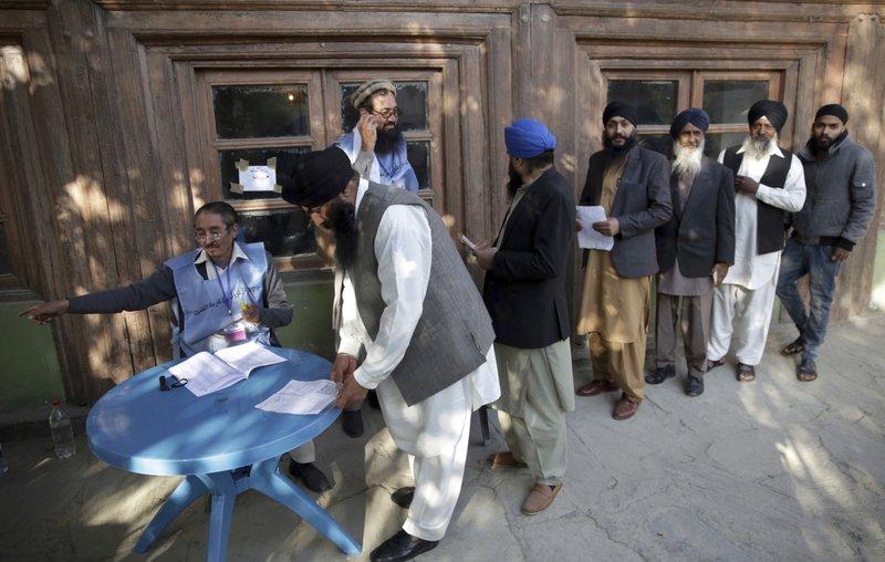 Suicide Blast Kills 3 People at Afghan Polling Station