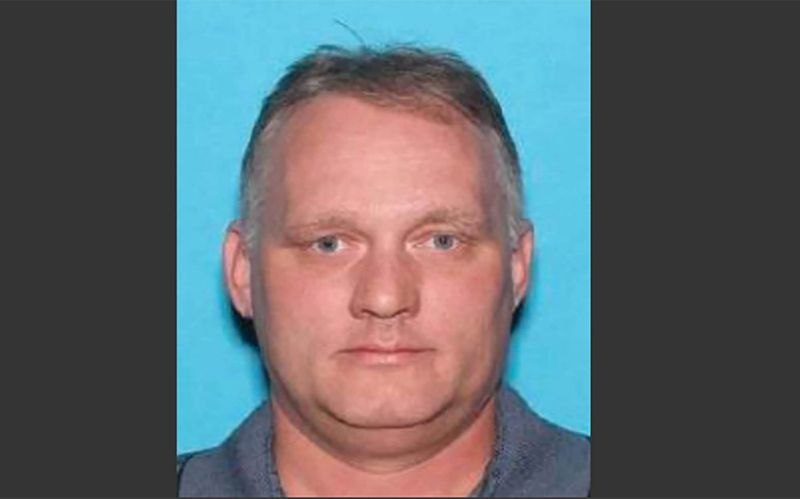 A driving licence picture of Robert Bowers (AFP)