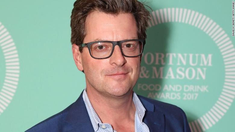 William Sitwell at the fifth annual Fortnum & Mason Food and Drink Awards on May 11, 2017 in London, England.