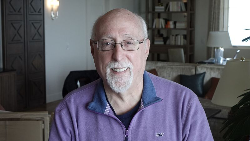 Veteran tech journalist Walt Mossberg (Photo: Jefferson Graham)
