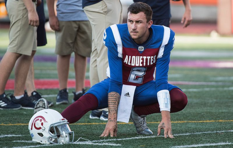 Johnny Manziel is returning to the U.S. to play football.