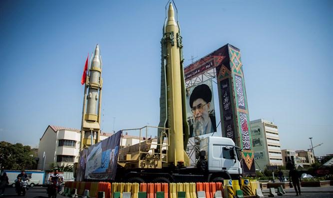 Missiles in Tehran (Credit: Reuters)