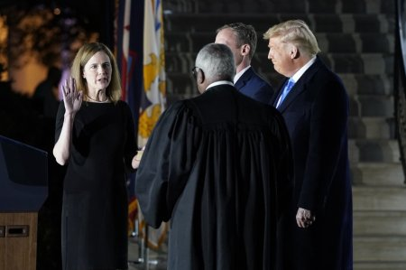 WATCH: Amy Coney Barrett Sworn In as Associate Justice of the Supreme Court