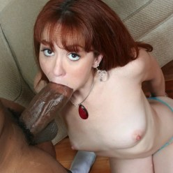 Nerdy Redhead Learns The Power Of BBC - image  on https://blackcockcult.com