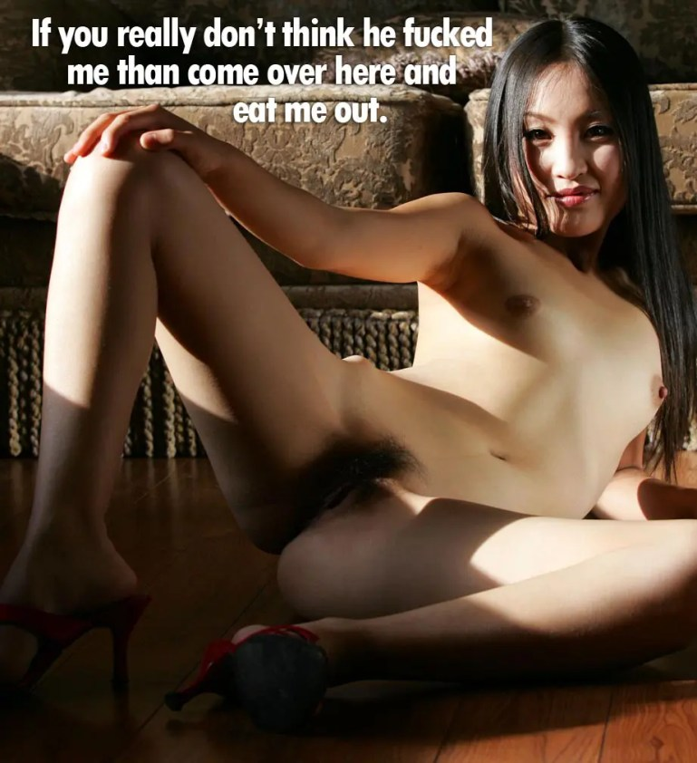 Asian Cuckold Captions - #21-30 - image  on https://blackcockcult.com
