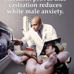 Castration: Accept Your Fate Whitebois - image  on https://blackcockcult.com