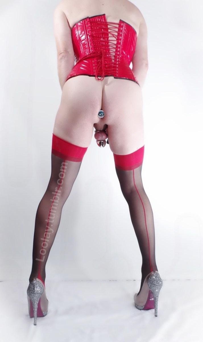 The Anal Jewel - Sissy Slaves [40 Pics] - image  on https://blackcockcult.com