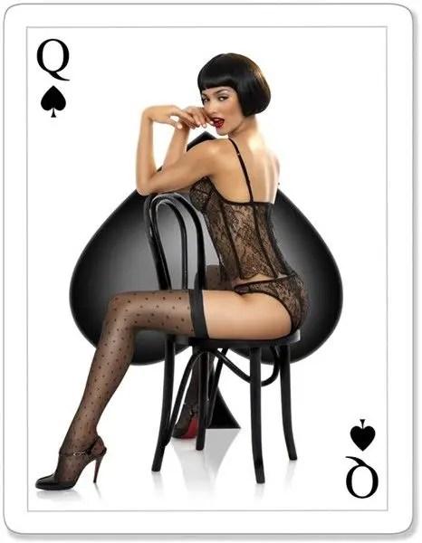 Queen of Spades Artwork - image  on https://blackcockcult.com