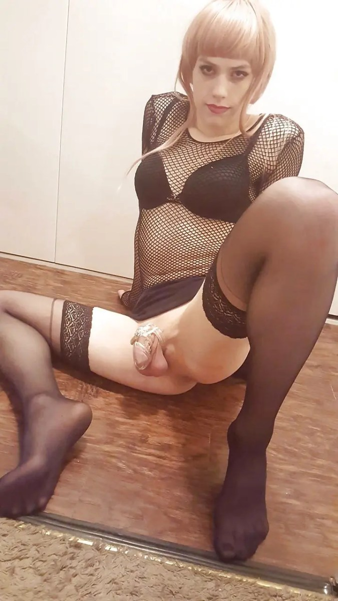 Chastised Sissy Submission - image  on https://blackcockcult.com