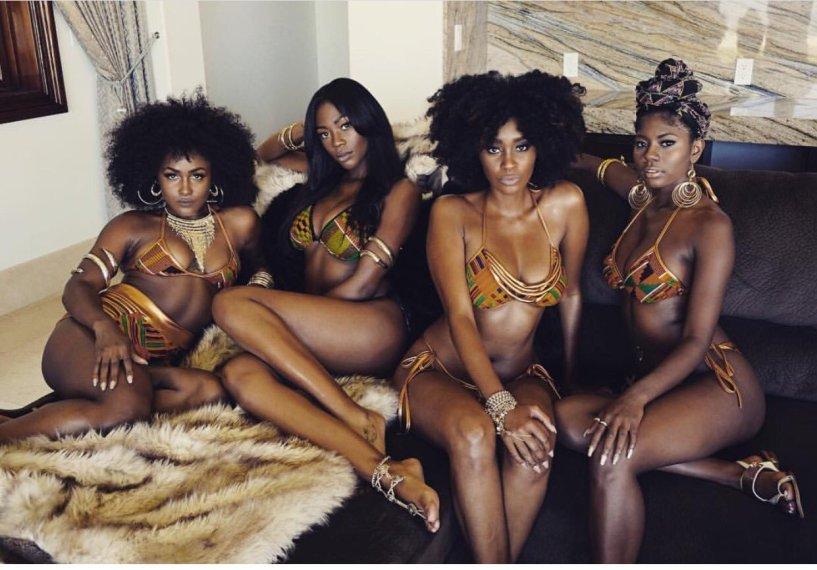 Black Women Are Divine - I - image  on http://blackcockcult.com