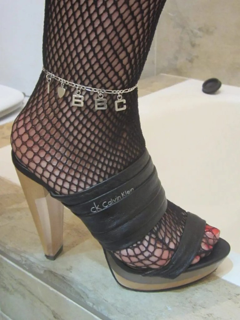 Queen of Spades Anklets and Tattoos - I - image  on https://blackcockcult.com