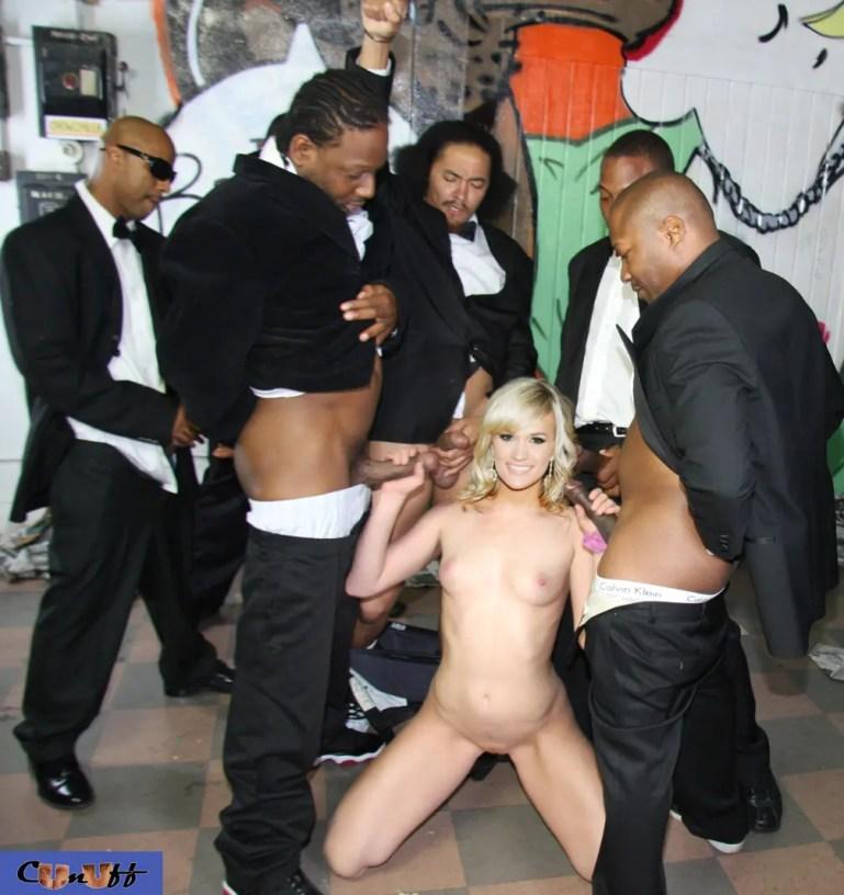 American Idol Winner Carrie Underwood Goes Black - image  on https://blackcockcult.com