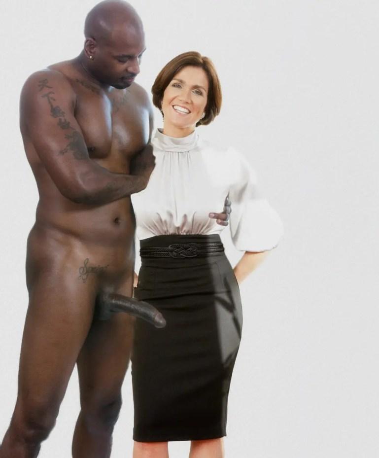 Susanna Reid Prepares For a Black Cock Photoshoot - image  on https://blackcockcult.com