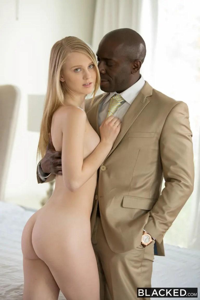 Lily Rader: A Model Black Cock Slut - image  on https://blackcockcult.com