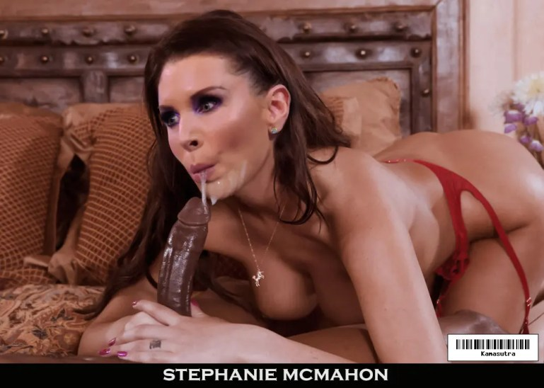 Stephanie McMahon Converts To Black Only, and Loves It! - image  on https://blackcockcult.com