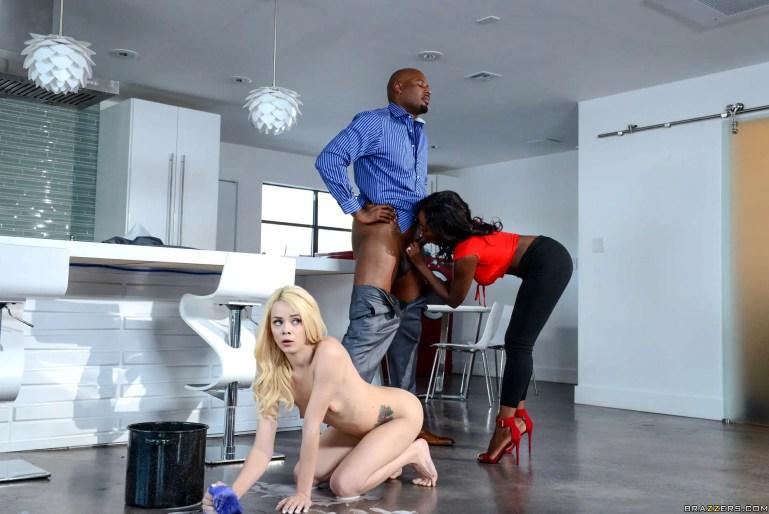 Household Slave - image  on https://blackcockcult.com