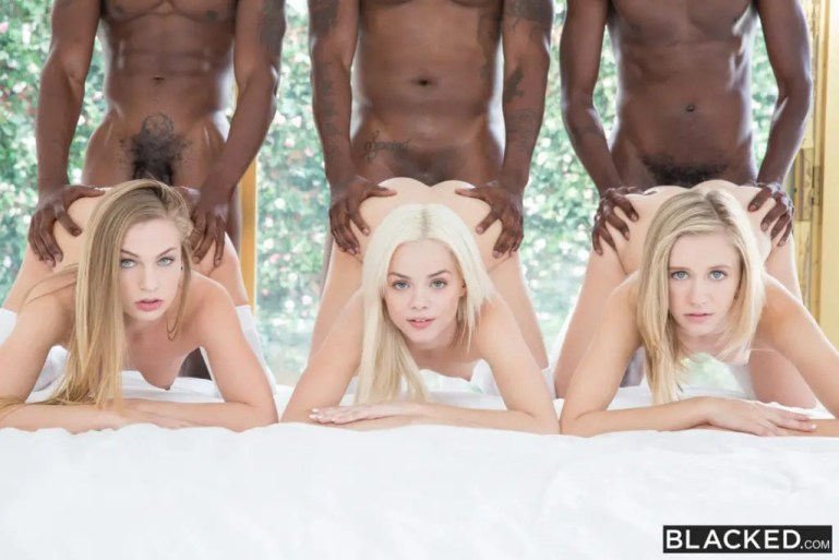 Pale White Princesses Go Black - image  on https://blackcockcult.com